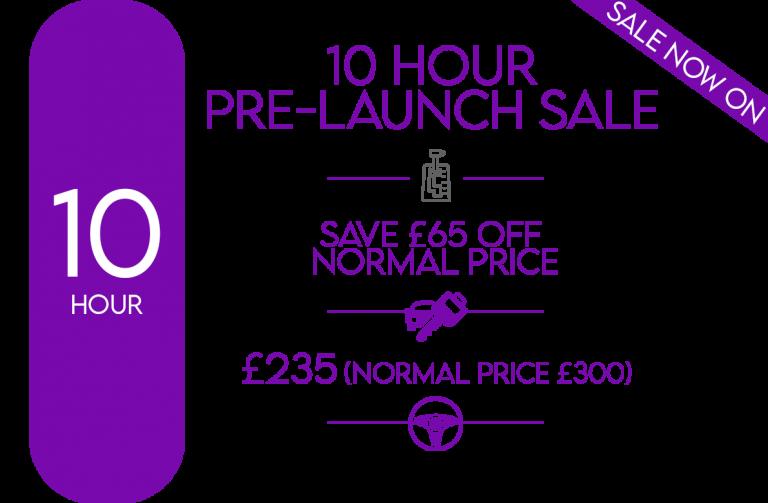 automatic pre-launch sale