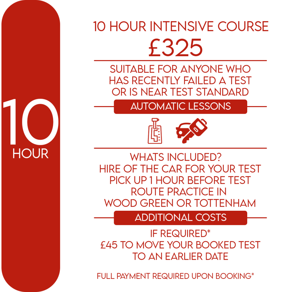 automatic intensive course prices
